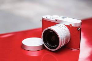 LEICA Q (TYP 116) RED SILVER