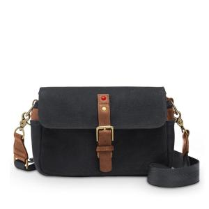 LEICA COLLECTION BY ONA, BOWERY CAMERA BAG - BLACK