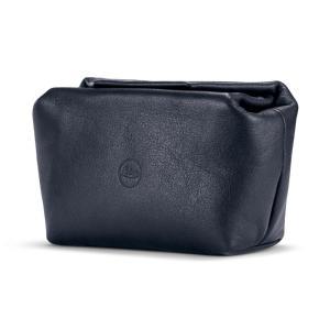 Túi da đựng máy ảnh C-Lux màu xanh dương size S