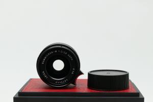 Leica Summicron-M 28mm f/2.0, màu đen